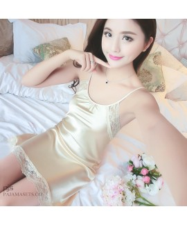 Sexy Female Lace Seductive Sleepwear for Summer La...